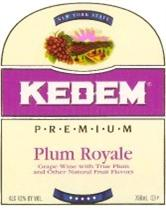 Kedem Plum Royale 750ml - Case of 12